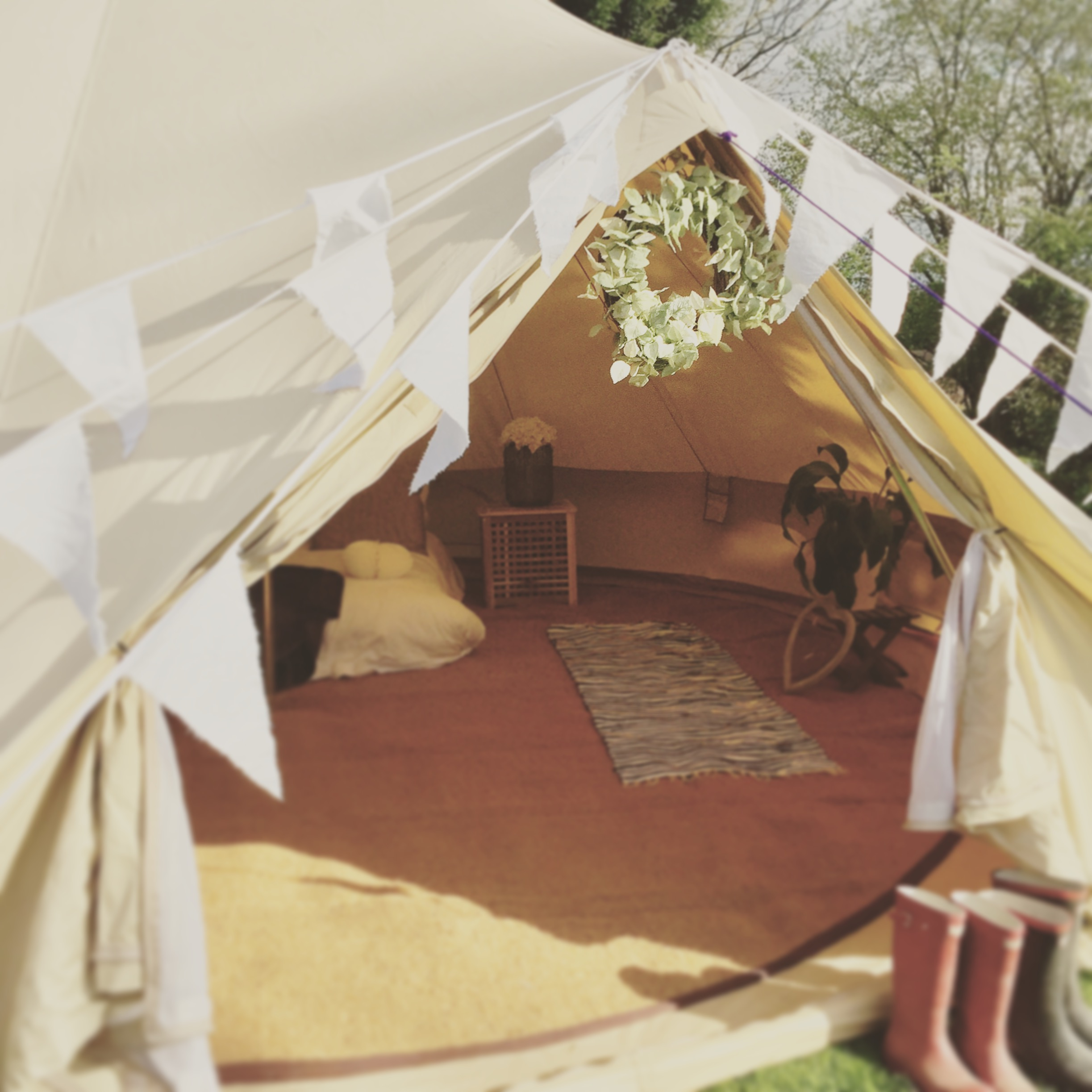 Create your very own pop up hotel or Bumble Bell tent village & Weddings | Bumble Bell - Bell Tent Hire