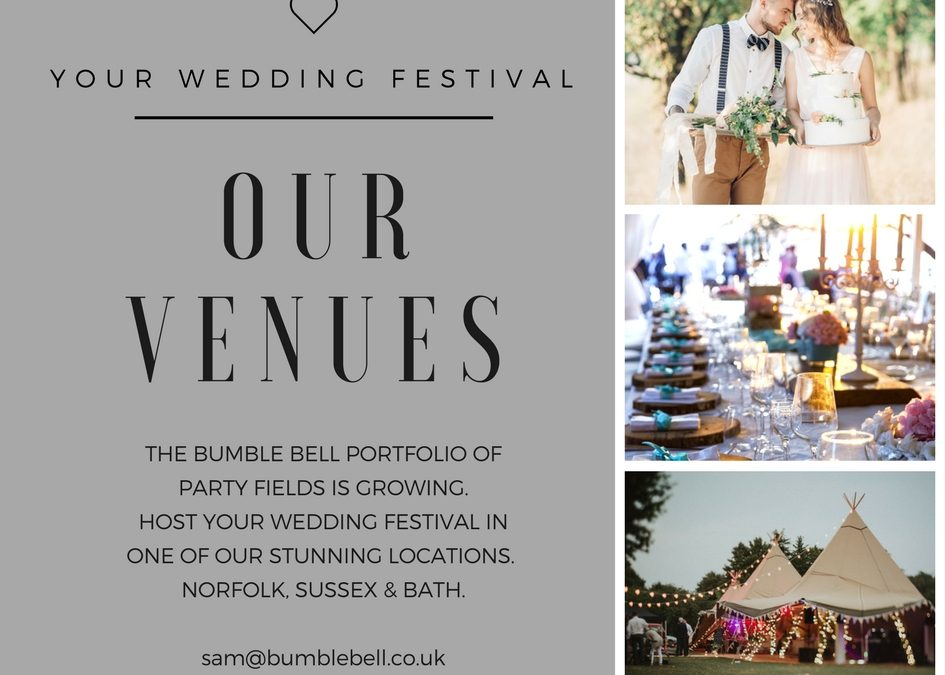 Your Wedding Festival – Our Party Fields