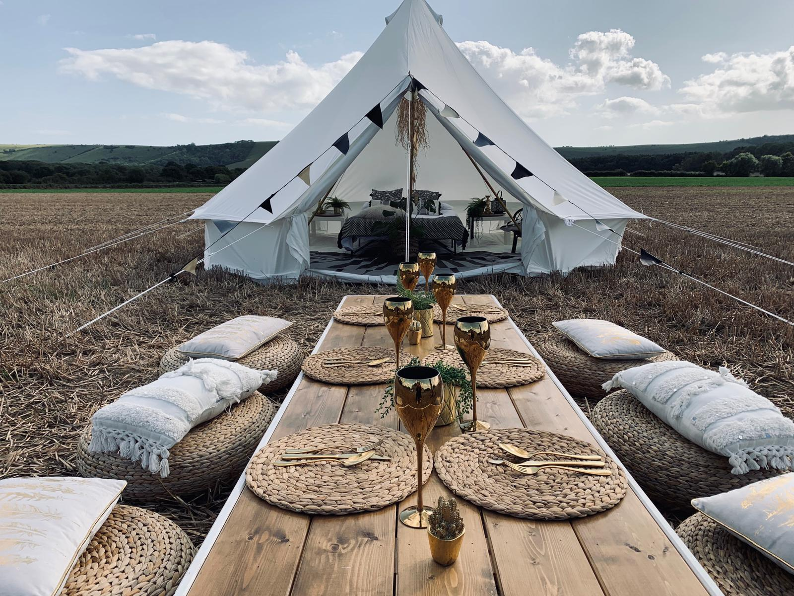Wedding Bell Tents